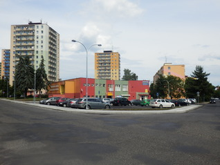 Chodov – Revitalization of Tovární street, including parking