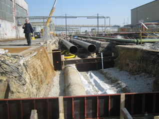 Reconstruction of cooling mains - Vřesová